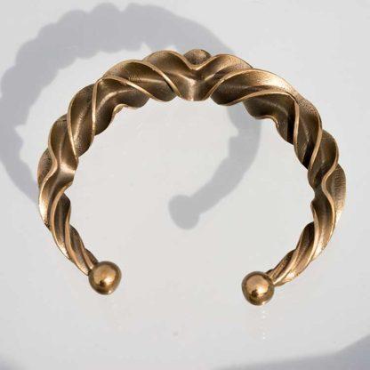 Bronzealderarmring-bronze