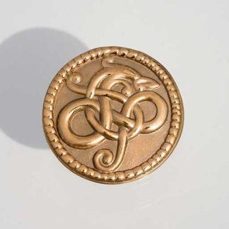 Slangehovedbroche-bronze
